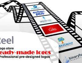 #34 for Design a landing page banner for new logo design service by basem36