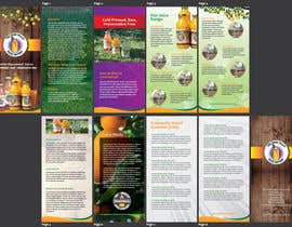 #4 for Design a Brochure for Juice Company by AchiverDesigner