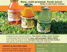 #11 para Design a Flyer for Juice Company por IreneSkywalker