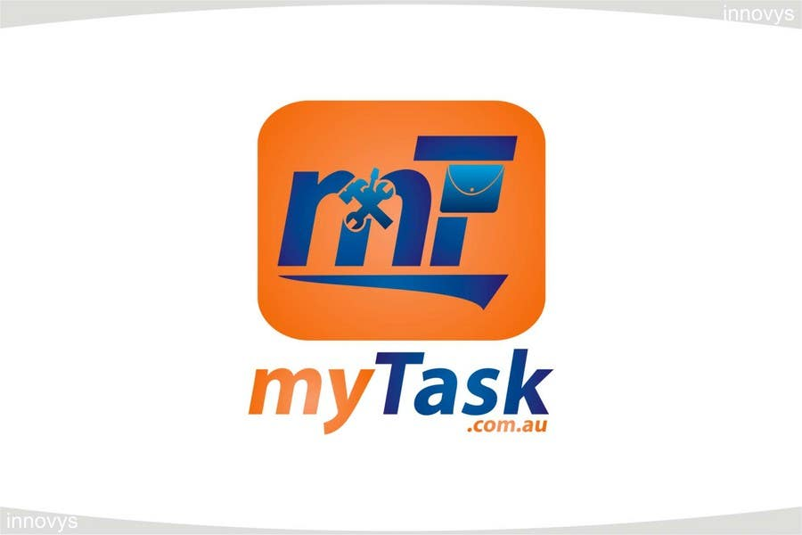 Kilpailutyö #206 kilpailussa Logo Design for myTask.com.au