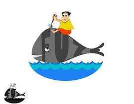 #6 para Graphic Design of Whale por vishakhvs