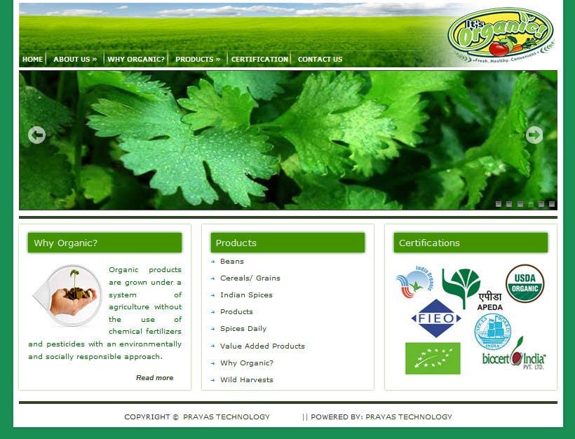 #10 for Wordpress Website Design by prayastechnology