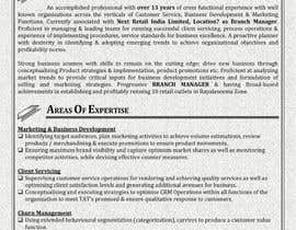 #24 for Resume templates af ashishantony