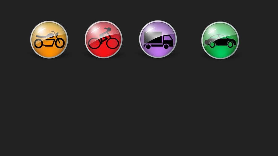 Konkurrenceindlæg #1 for Desgin some buttons