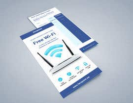 #19 para Design a Flyer for Facepoint Social Wi-Fi Router por aleksejspasibo