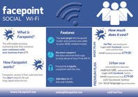 Contest Entry #18 for Design a Flyer for Facepoint Social Wi-Fi Router