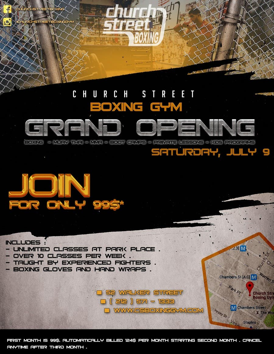 Contest Entry 1 For Design A Flyer Grand Opening