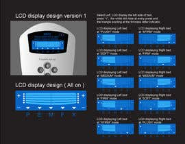 #15 untuk I need some Graphic Design to improve my current LCD display design for a remote control oleh davidliyung
