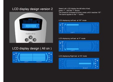 #17 for I need some Graphic Design to improve my current LCD display design for a remote control by davidliyung