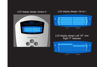 #19 for I need some Graphic Design to improve my current LCD display design for a remote control by davidliyung