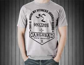 Nro 83 kilpailuun Design a T-Shirt - ANYTIME FITNESS CARLSBAD, NM käyttäjältä GButerin