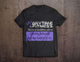 Nro 91 kilpailuun Design a T-Shirt - ANYTIME FITNESS CARLSBAD, NM käyttäjältä YessaY