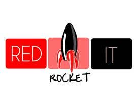 #307 dla Logo Design for red rocket IT przez taliss