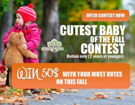 #13 for Design a Banner for Cutest Baby Contest af thecodersmart