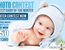 #8 for Design a Banner for Cutest Baby Contest by mayerdesigns