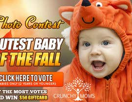 #25 for Design a Banner for Cutest Baby Contest by mayerdesigns