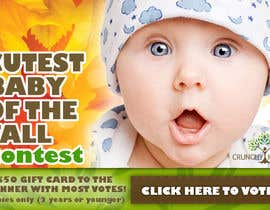 #7 untuk Design a Banner for Cutest Baby Contest oleh igority