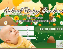 #1 for Design a Banner for Cutest Baby Contest af sitsitboy