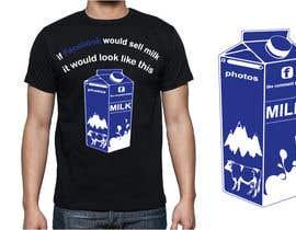 #4 for Design a t-shirt for milkyshirt by japinligata
