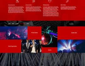 PervizHebibli tarafından Bold-Dynamic-Creative Website Mockup Design For Karaoke Business That Pops For WordPress or PHP için no 22