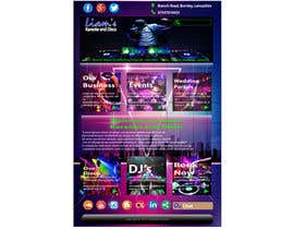 Nro 13 kilpailuun Bold-Dynamic-Creative Website Mockup Design For Karaoke Business That Pops For WordPress or PHP käyttäjältä MuhammadHammad64