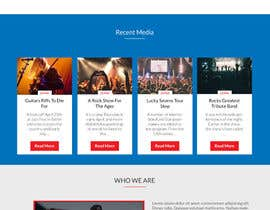 Mockupmastr tarafından Bold-Dynamic-Creative Website Mockup Design For Karaoke Business That Pops For WordPress or PHP için no 9