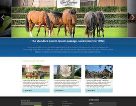 nº 30 pour Design a Website Mockup for Horse Stable par chithrarahul
