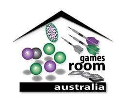#298 untuk Design a Logo for gamesroom australia oleh pervezuddin