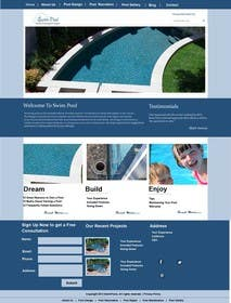 #12 for Wordpress Responsive Theme Swimming Pool Service af fathimak
