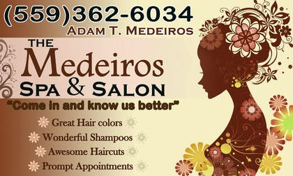 #117 para Design a Banner for a Salon and Spa por akritidas21