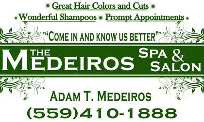 #160 para Design a Banner for a Salon and Spa por akritidas21