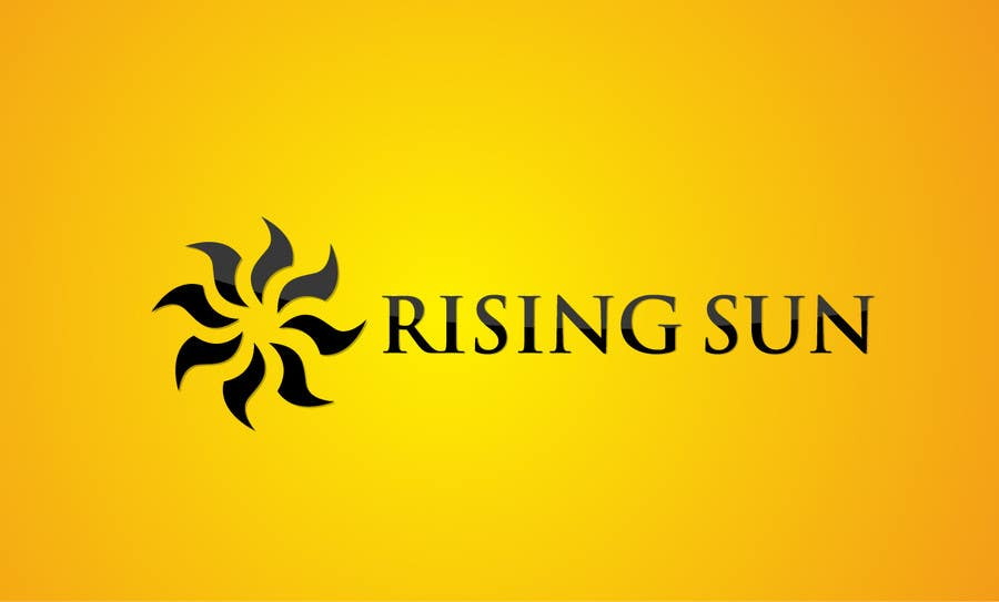 design a logo for a new business rising sun freelancer rising sun logistics rising sun log company