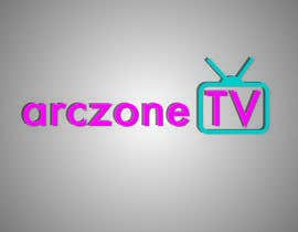 #11 para Design a Logo for ARCZONE TV por juliannastaro