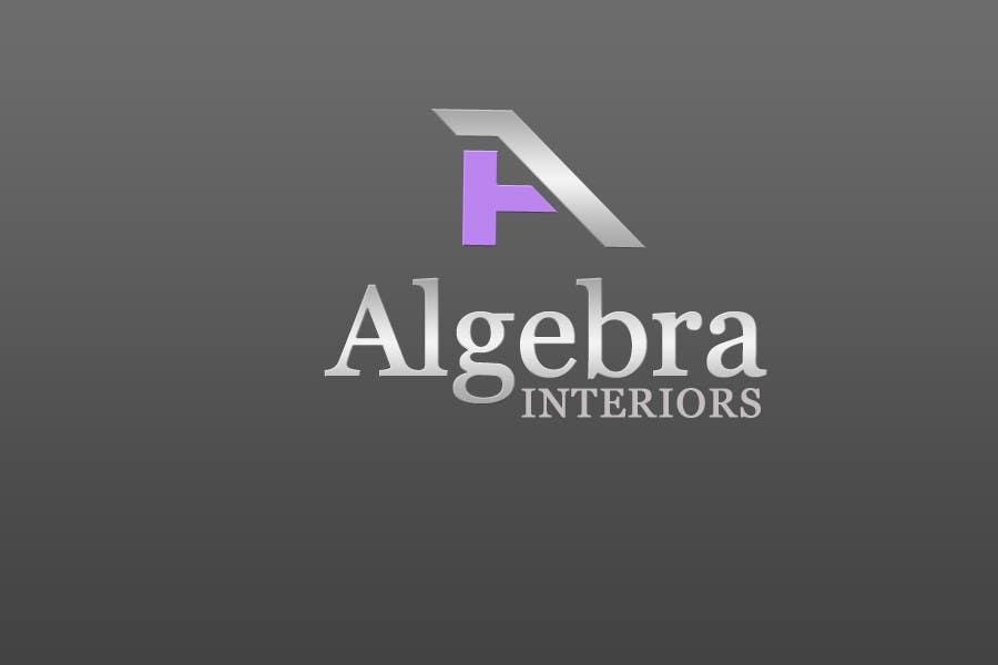 Inscrição nº 232 do Concurso para Logo Design for Algebra Interiors