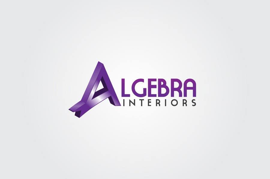 Inscrição nº 237 do Concurso para Logo Design for Algebra Interiors