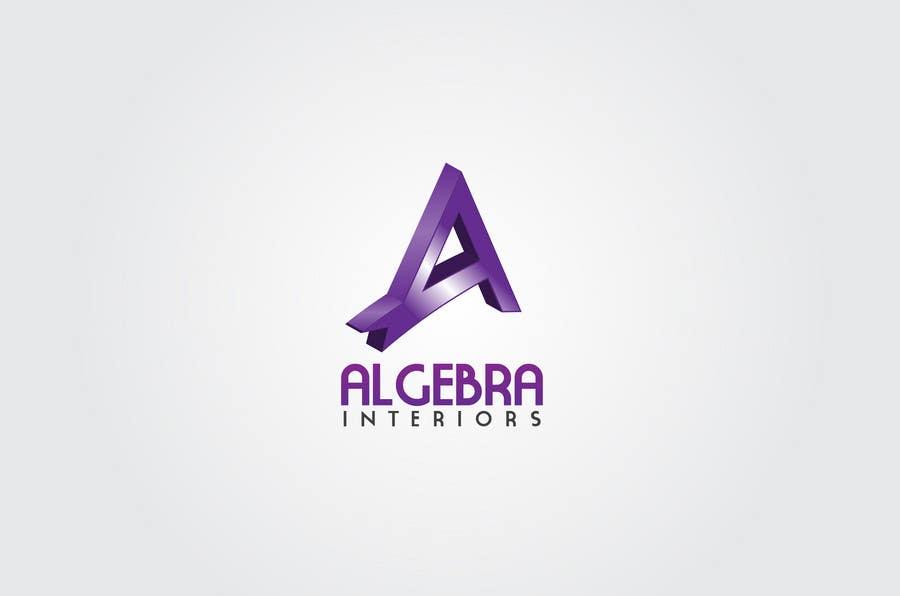 Penyertaan Peraduan #238 untuk Logo Design for Algebra Interiors