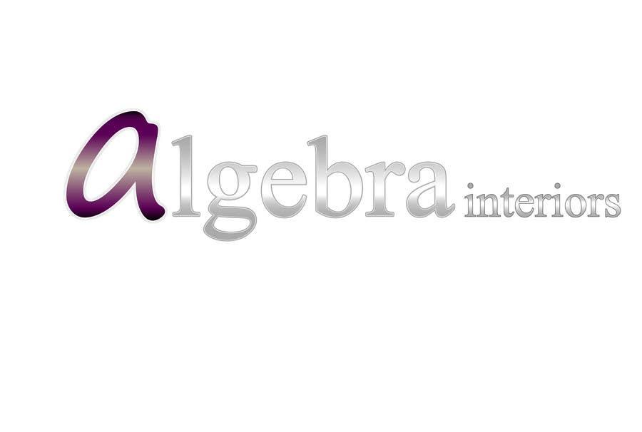 Inscrição nº 224 do Concurso para Logo Design for Algebra Interiors