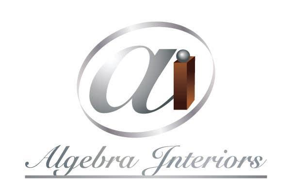 Penyertaan Peraduan #137 untuk Logo Design for Algebra Interiors