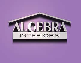 nº 63 pour Logo Design for Algebra Interiors par Qudoz