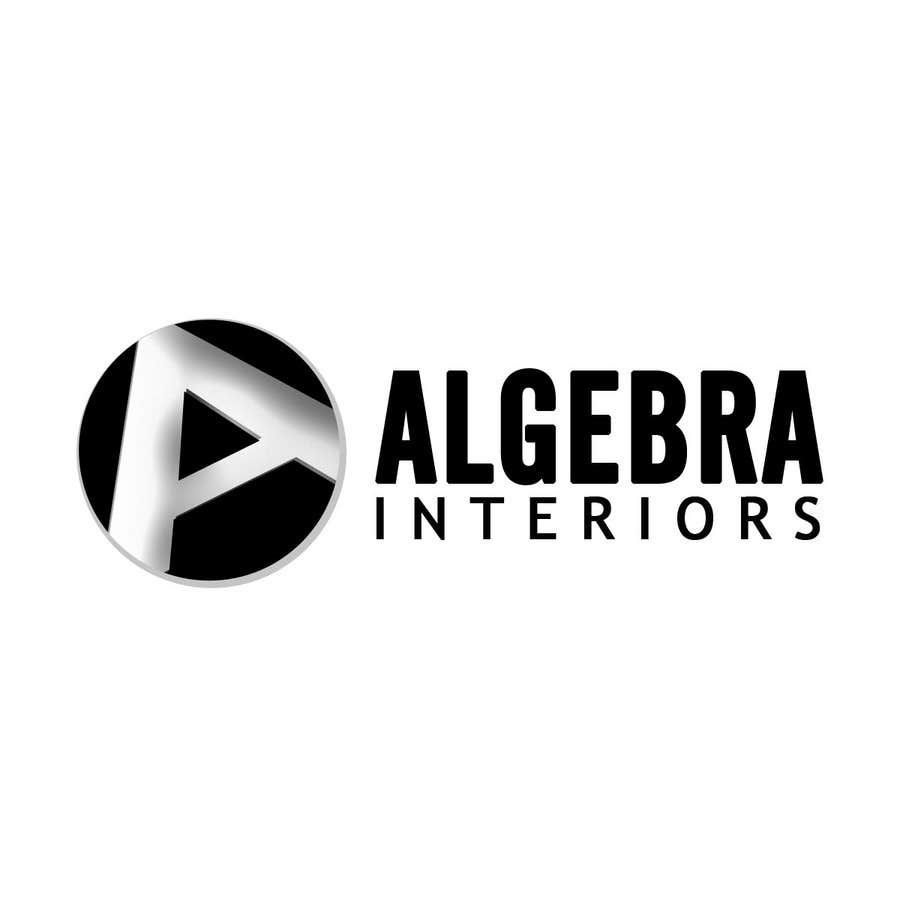 Penyertaan Peraduan #81 untuk Logo Design for Algebra Interiors