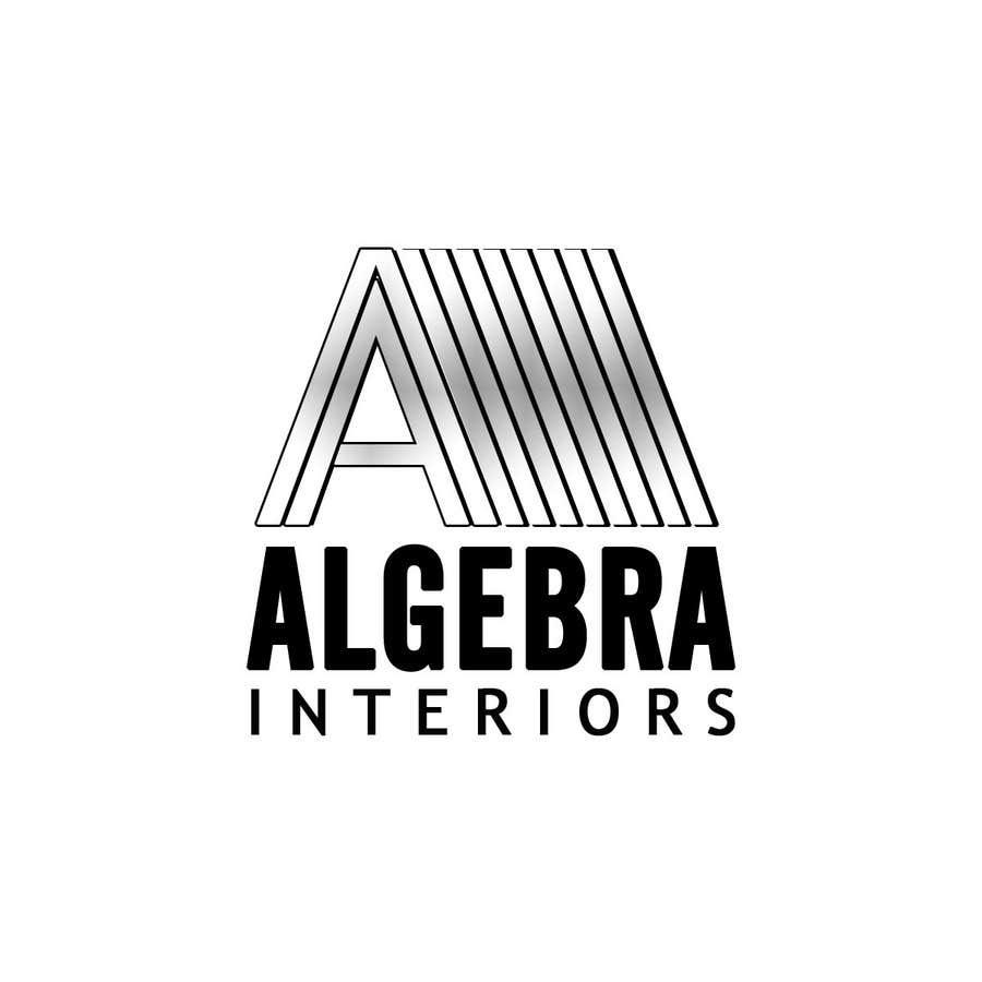 Bài tham dự cuộc thi #82 cho Logo Design for Algebra Interiors