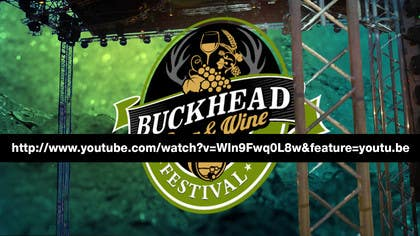#25 for Buckhead Beer & Wine Fest Logo Animation af designreaktor