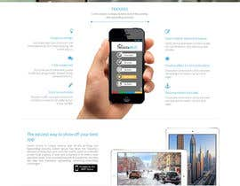 #18 for Design a Website Mockup for iPhone Application Website by manishb1