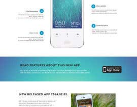 #23 for Design a Website Mockup for iPhone Application Website by roshanthilanga4