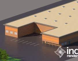 Nro 6 kilpailuun Industrial Building Rendering käyttäjältä cmrama