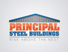 #71 para Logo Design for PRINCIPAL STEEL BUILDINGS por jtw0728