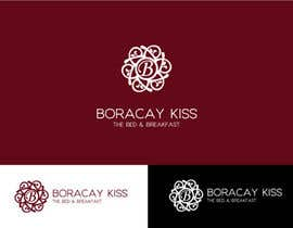 #154 untuk Design a Logo for Boracay Kiss - The Bed and Breakfast oleh nom2
