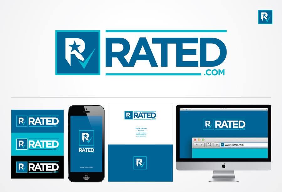 Inscrição nº 191 do Concurso para Design a Logo for Rated.com