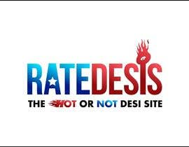 nº 42 pour Design a Logo for ratedesis - the hot or not desi site par iakabir