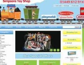 #16 for Design website for toyshop by OkeshMeyos